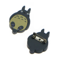 Totoro Wooden Pin Badge