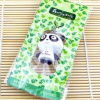 Wooden Panda Phone Charm